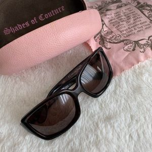 Juicy Couture Heiress Brown Tortoise Sunglasses